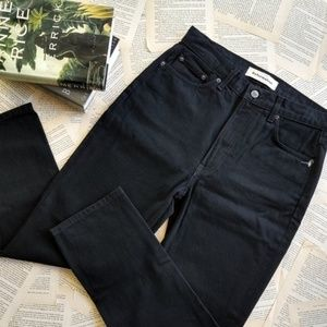 NWOT REFORMATION Julia Crop High Cigarette Jeans
